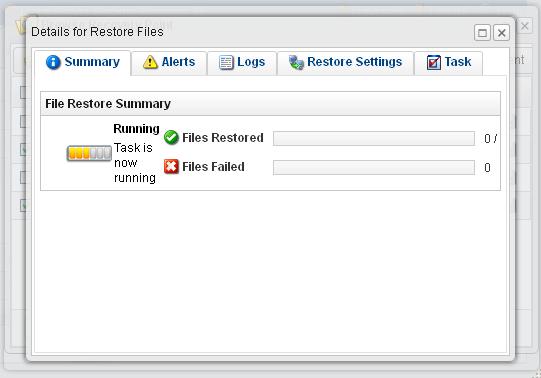 R1Soft Restore